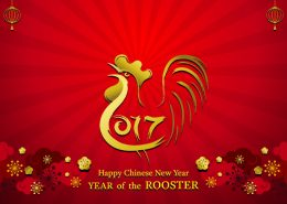 Year of Rooster, Chinese New Year