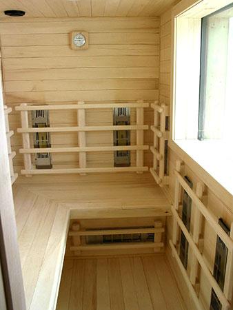 Far-infrared-sauna